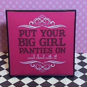 Big Girl Panties Frame